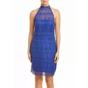 BB DAKOTA - Lace High Neck Dress
